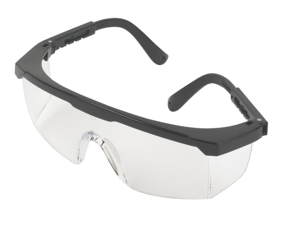 JSP Martcare Wraparound Clear Lens Safety Specs