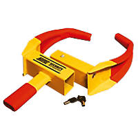 Maypole Universal Wheel Clamp Yellow / Red