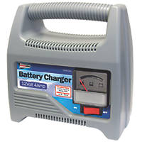 Streetwize SWBCG4 4A Automatic Battery Charger 12V