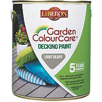 Liberon Decking Paint Light Silver 2.5Ltr