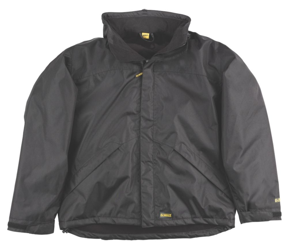 "DeWalt Site Jacket Black X Large 46-48"" Chest"