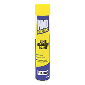 No Nonsense Line Marking Paint Yellow 750ml | Line Marking ...