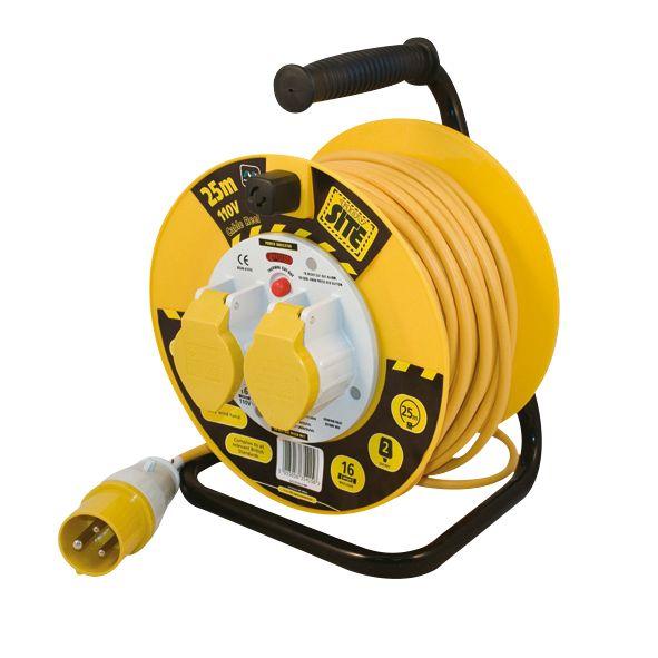 Masterplug Cable Reel 110V 25m