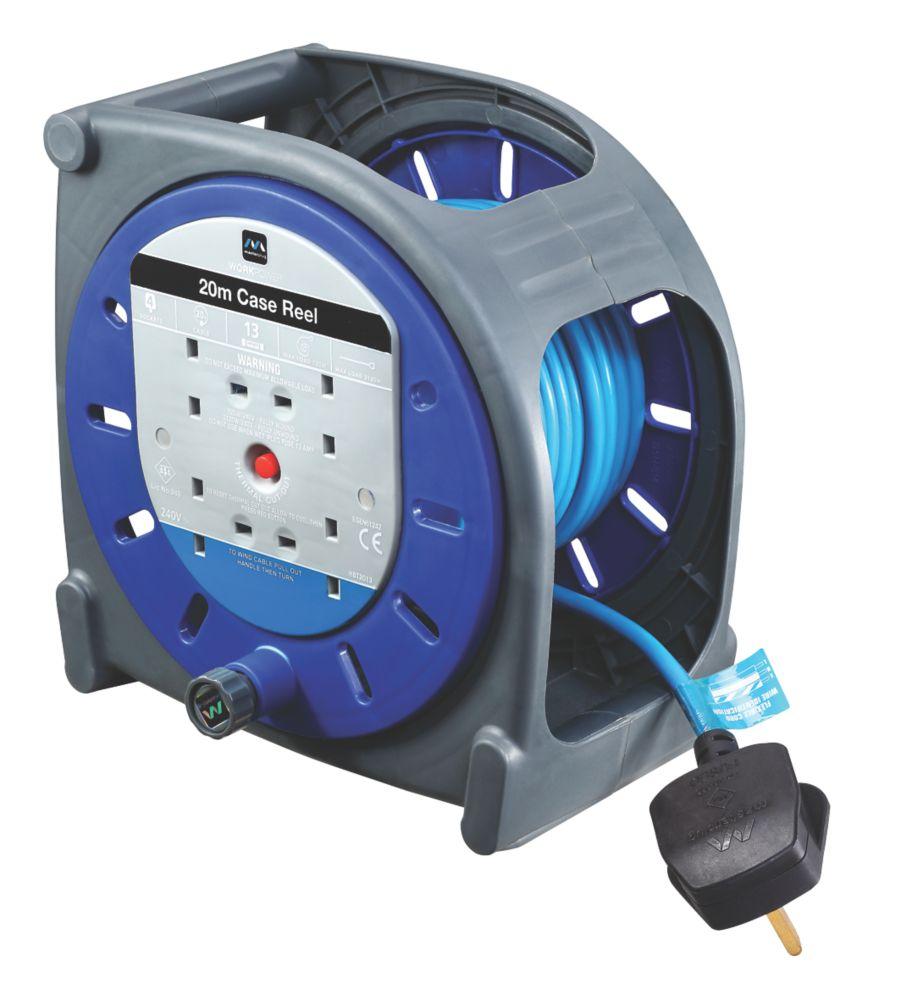 Masterplug Cable Reel 4G 240V 20m