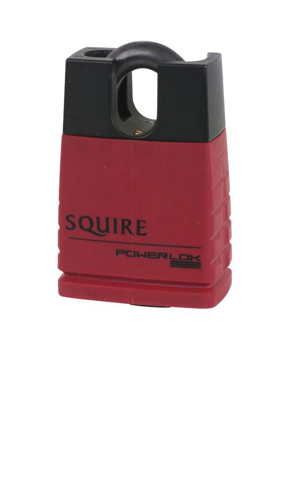 Squire Keyed Alike Closed Shackle Padlock Solid Steel 50mm