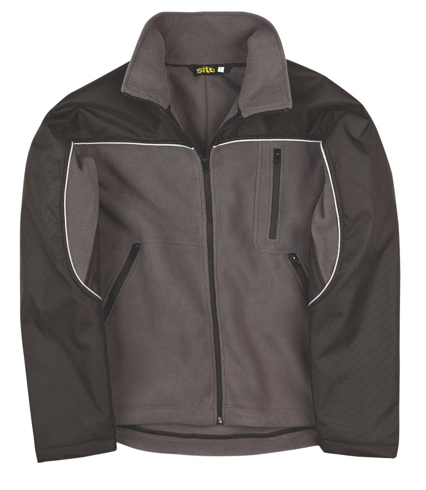 Site Fleece Jacket Grey X Large 54""