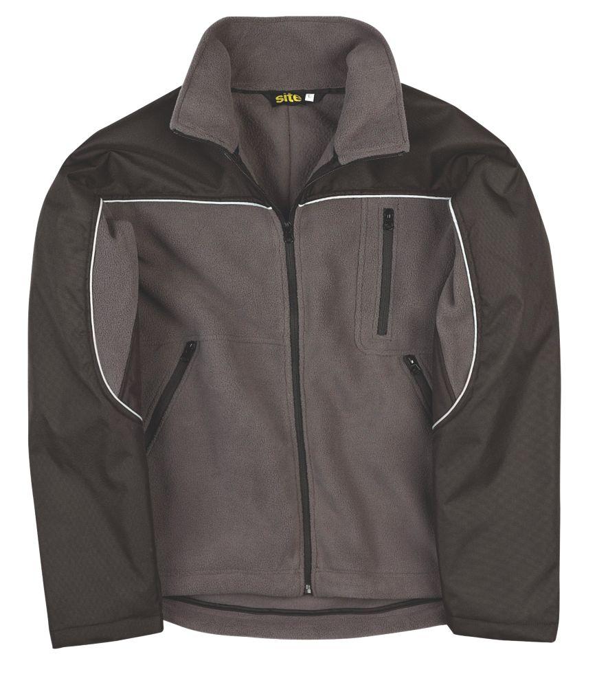 """Site Fleece Jacket Grey X Large 54"""""""