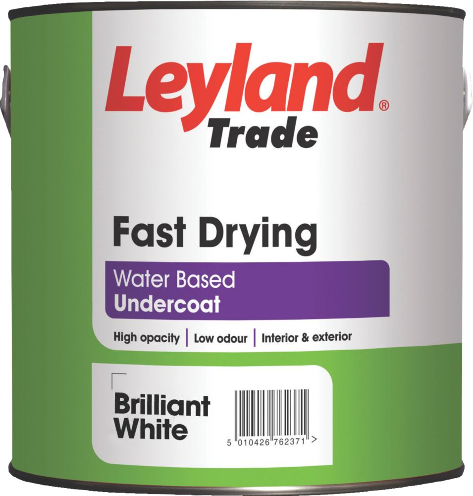 Leyland Fast Drying Undercoat White 2.5Ltr