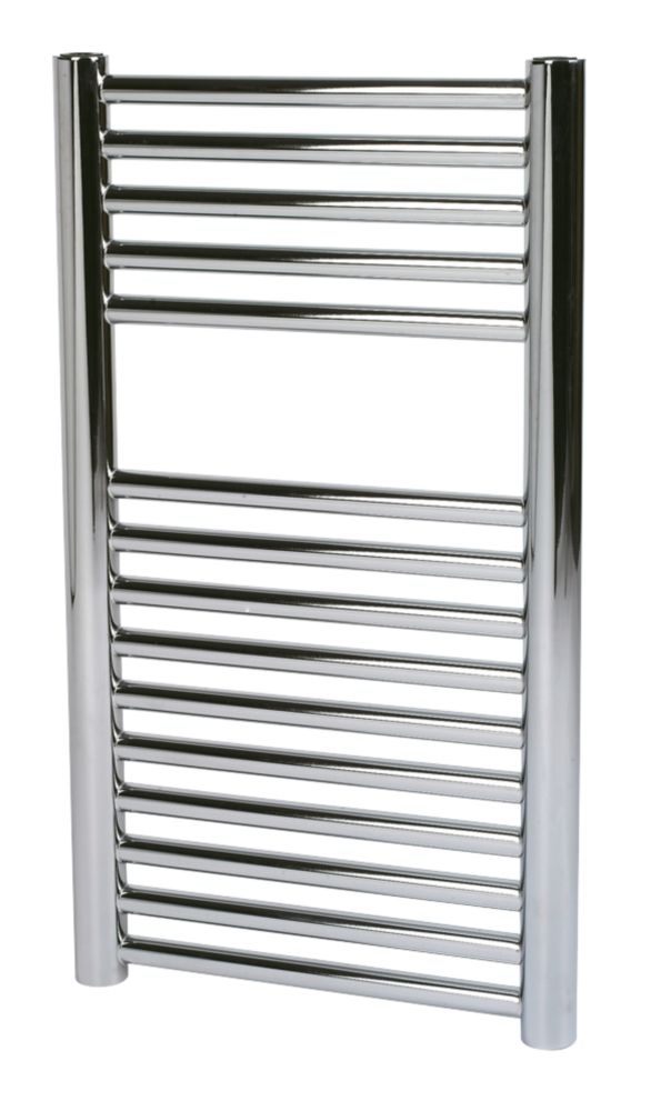 Kudox O Profile Towel Rail Chrome 400 x 700mm 187W 638Btu