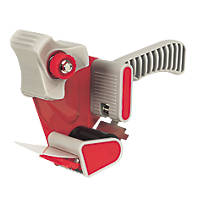 Hand-Held Tape Dispenser Red/White 50mm x 0.23mm