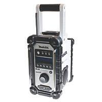 Makita DMR104 - White DAB / FM Site Radio 240V