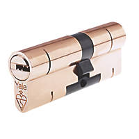 Yale Superior 1-Star Euro Profile Cylinder 45-55 (100mm) Brass