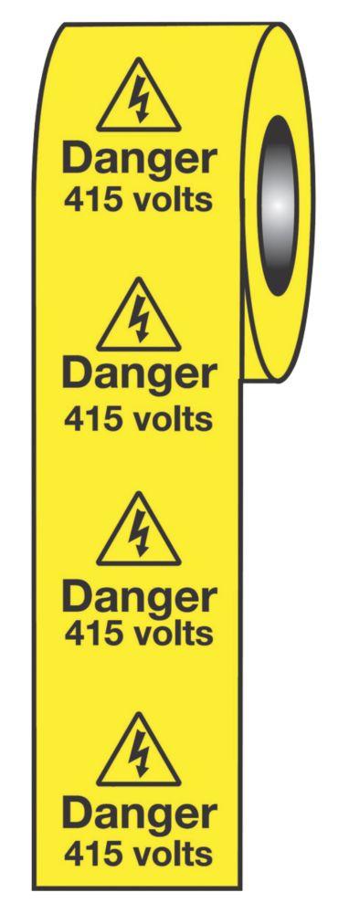 Danger 415V