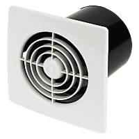 Manrose LP100SS 20W In-Line Bathroom Extractor Fan