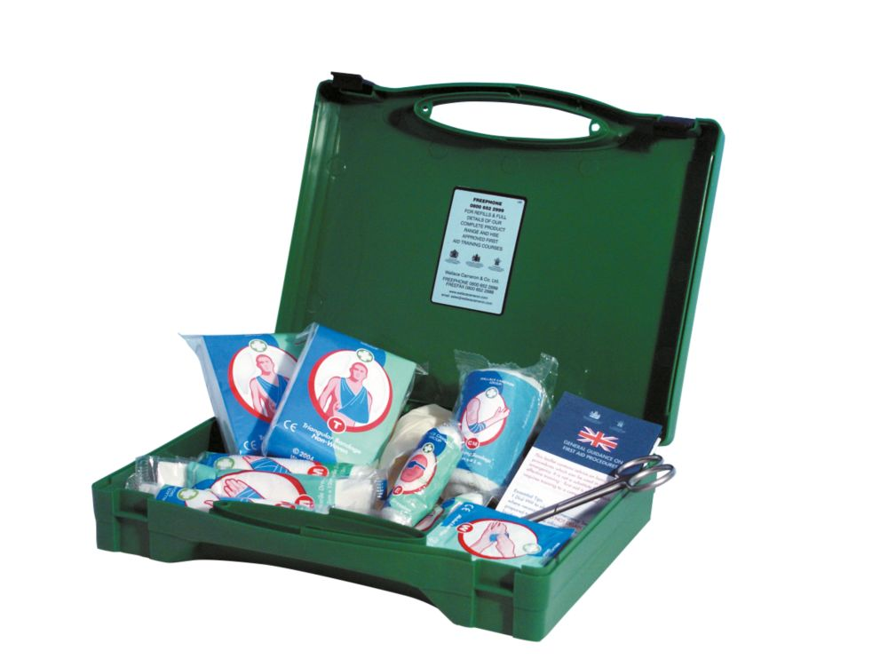 Green Box PCV First Aid Kit