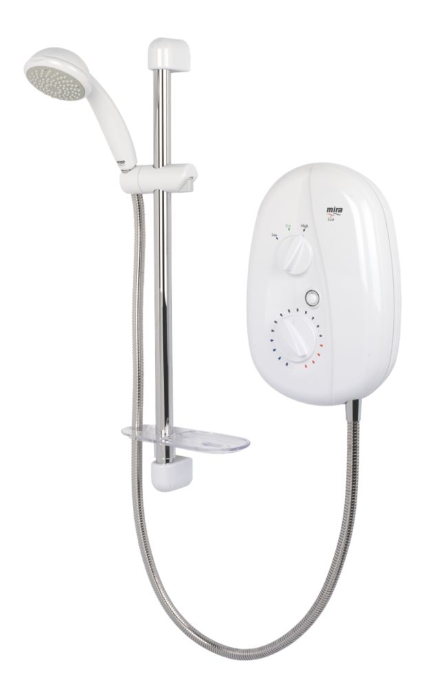 Mira Vie Electric Shower White / Chrome 9.5kW