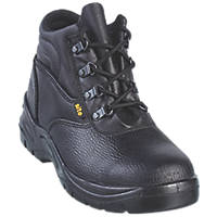 Site Slate Chukka Safety Boots Black Size 12