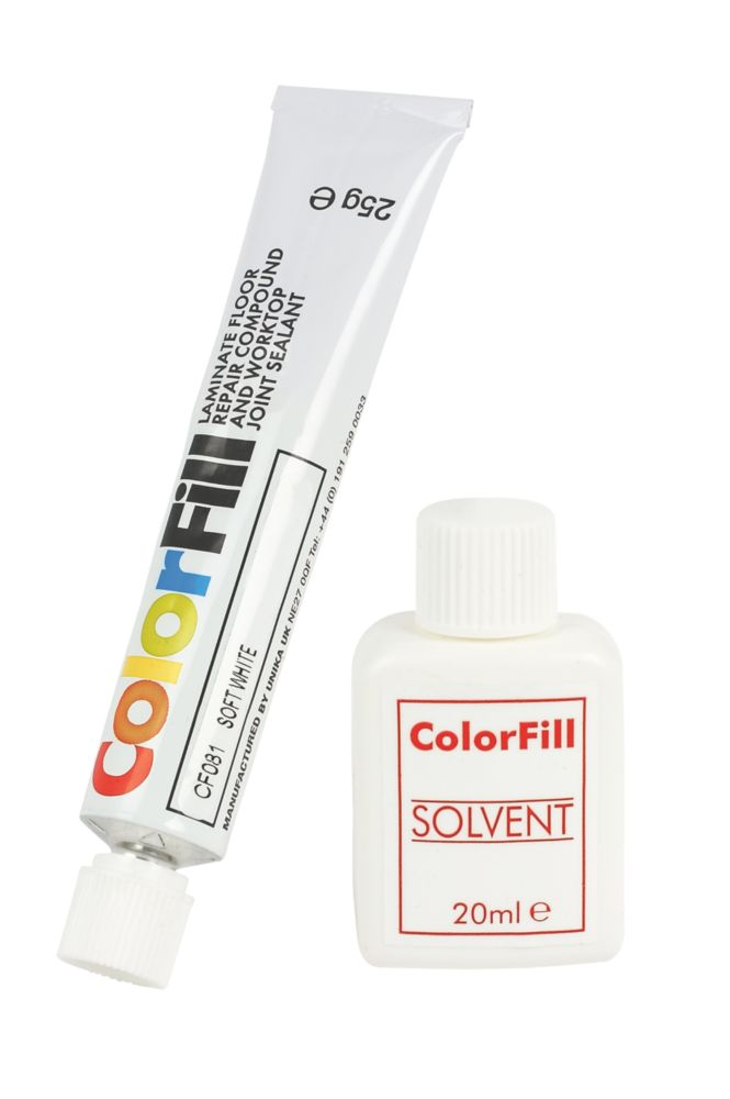 Colorfill Worktop Compound Soft White