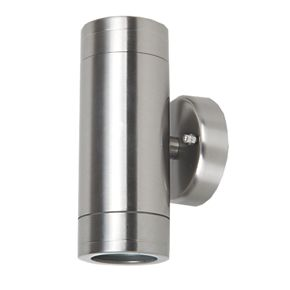Up and Down Wall Light Stainless Steel 35W