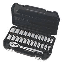 "DeWalt ½"" Socket Set 25 Pieces"