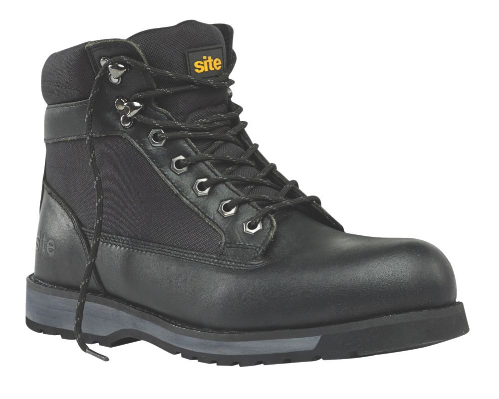Site Superlight Pumice Safety Boots Black Size 8