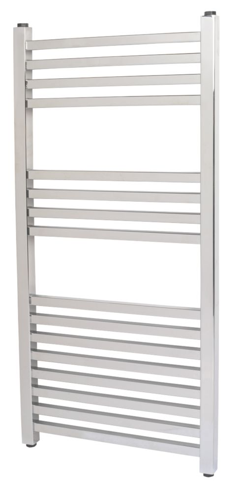 Kudox Cadiz Designer Towel Radiator Chrome 800 x 330mm 218W 743Btu