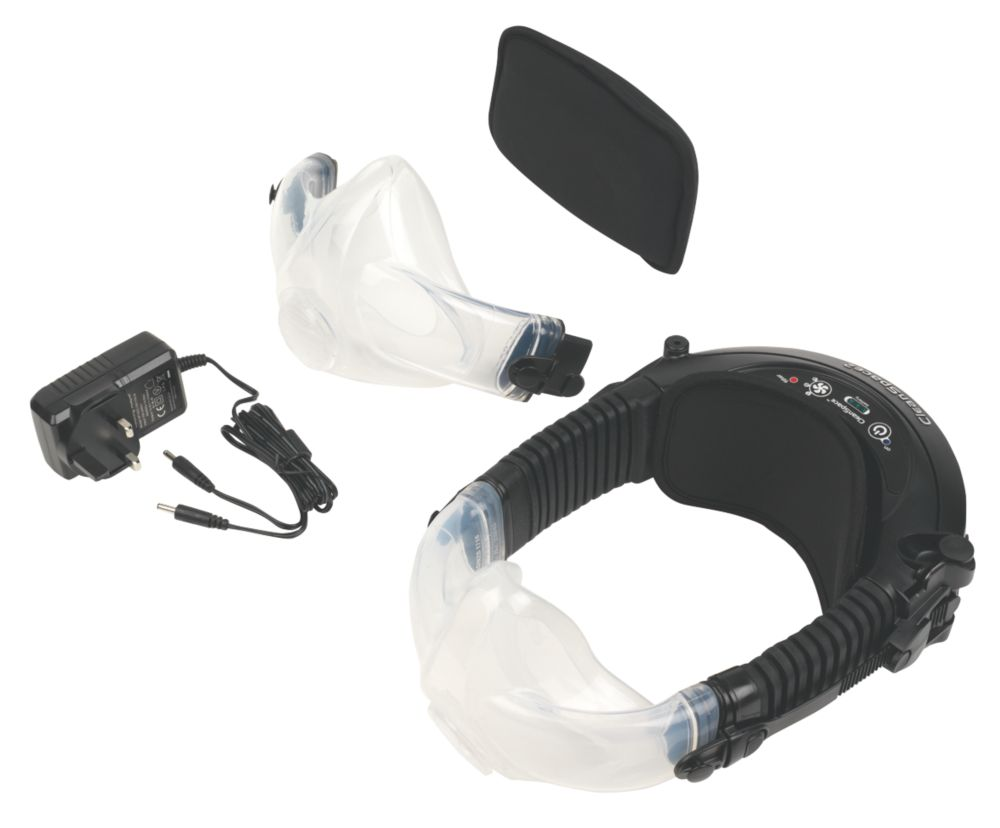 Paftec CleanSpace2 Battery-Powered Respirator with 2 Masks