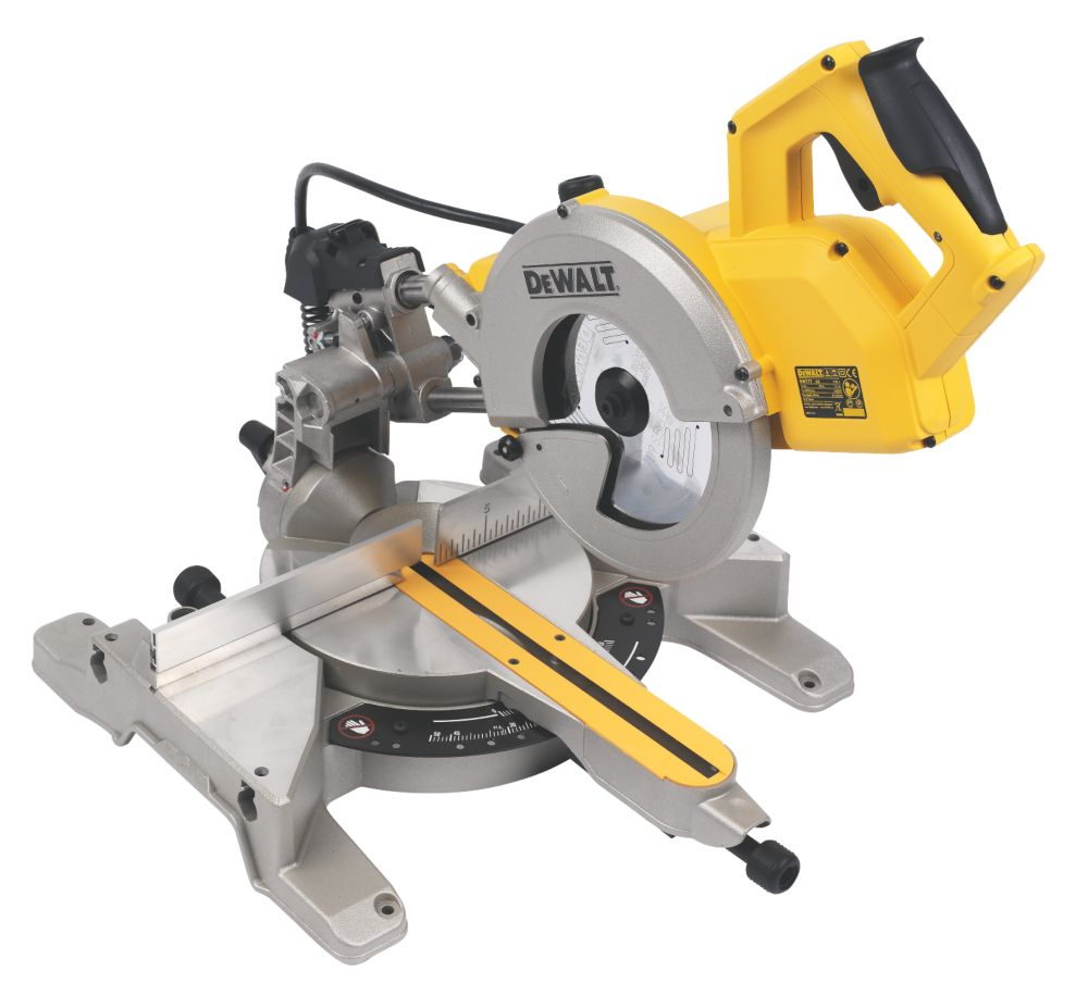 DeWalt DW777-LX 216mm Sliding Mitre Saw 110V