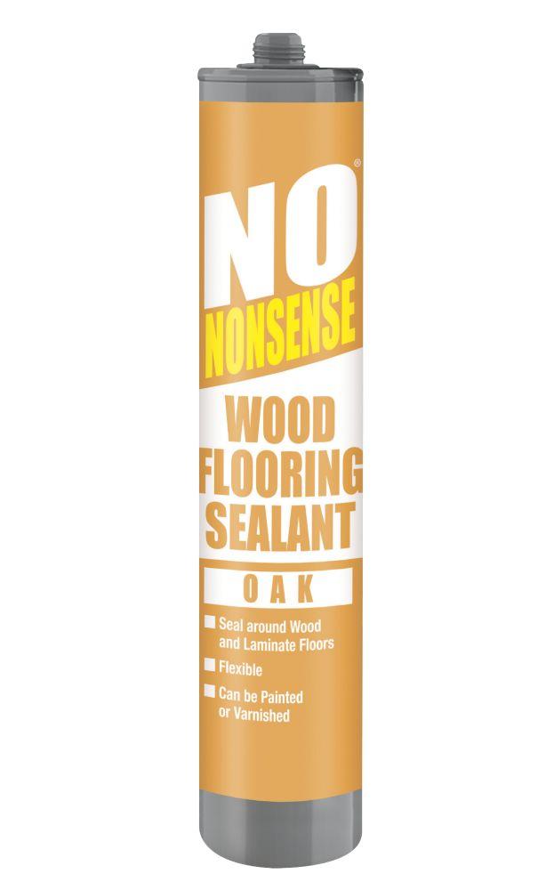 No Nonsense Wood Flooring Sealant Oak 310ml