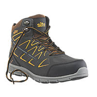 Site Crater Safety Trainer Boots Black Size 9