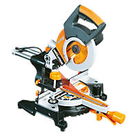 Evolution RAGE3-S 210mm Single-Bevel Sliding  Compound Mitre Saw 110V