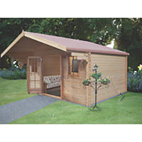 Shire Loxley 2 Log Cabin 4.1 x 4.1m