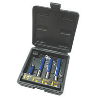 "Titan Kitchen Fitters Router Set ¼ & ½"" 4 Pcs"