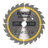 DeWalt Circular Saw Blade 165 x 20mm 24T