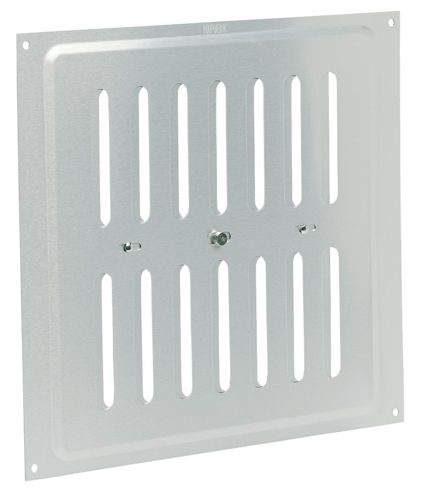 Map Vent Adjustable Vent Silver 229mm x 229mm