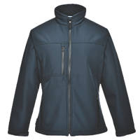 Portwest Charlotte Ladies Soft Shell Jacket Navy Large