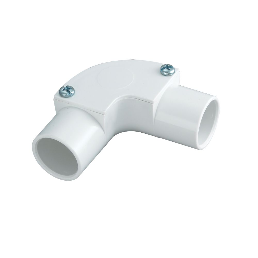 Tower Inspection Elbow 20mm White Pack of 1