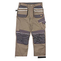 "Hyena Snowdon Work Trousers Brown/Grey 38"" W 32/34"" L"