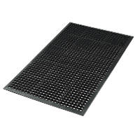 Safety Workstation Matting Black