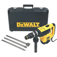 DeWalt D25820KIT-GB 5kg SDS Max Chipping Hammer 240V