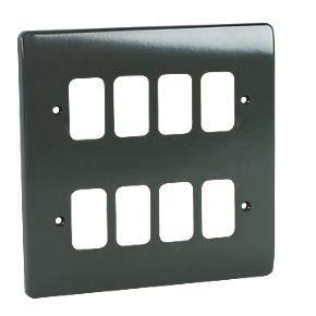 8 Module Grid Plus Frontplate