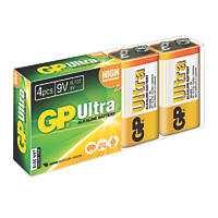 GP Batteries 9V Batteries 4 Pack