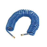Erbauer Coiled Air Hose 10m