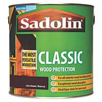 Sadolin Classic Woodstain Matt Jacobean Walnut 2.5Ltr
