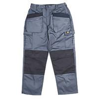 """Site Greyhound Work Trousers Grey 34"""" W 32"""" L"""