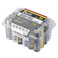 Alkaline AA Batteries 24 Pack