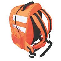 Portwest N/A Hi-Vis Rucksack Orange