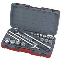 "Teng Tools ¾"" Socket Set 18 Pieces"