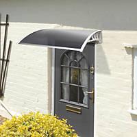 Greenhurst Easy Fit Door Canopy White 1200 x 800 x 230mm