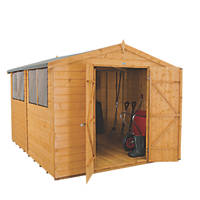 Forest 8' x 10' (Nominal) Apex Shiplap Timber Shed